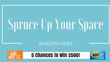 WIN a $250 Home Depot and $250 Best Buy Gift Cards! on http://www.canadafreebies.ca/