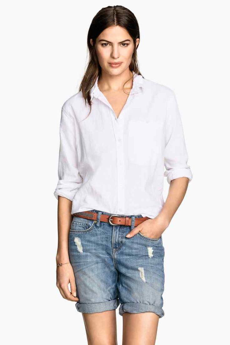 Pantaloni scurţi din denim | H&M