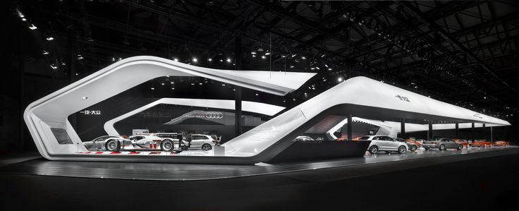 Audi, Auto Shanghai 2013 | Trade-fair appearance | Beitragsdetails | iF ONLINE EXHIBITION