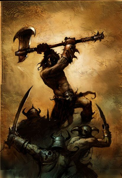 fantasy axe warrior - Google Search | Fantasy Island ...