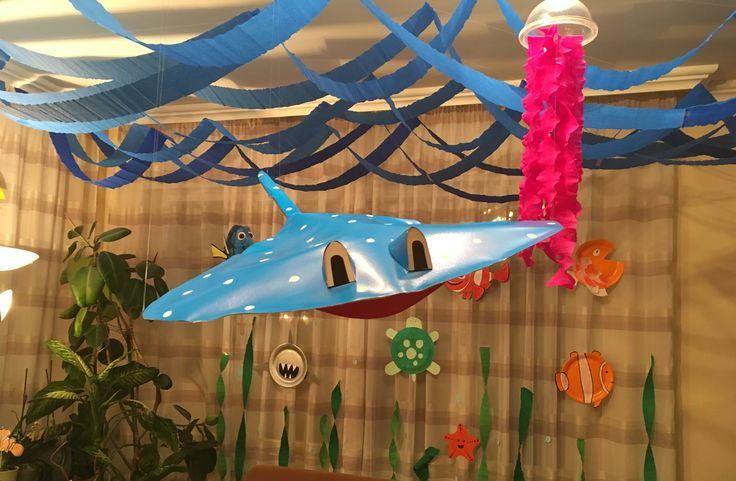 Csináld Magad - Némó nyomában születésnapi dekoráció - SZMK  #diy #diybirthday #birthdaydecoration #diydecoration #findingnemo #findingdory #disney #diydisney #birthdayparty #birthday #pixar #születesnap #szülinap #szülinapibuli #csináldmagad #csinaldmagad #dekor #csináldmagad #szülinapidekoráció #nemo #szenilla #mozikommuna