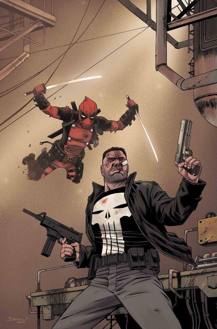 #Deadpool #Fan #Art. (Deadpool vs. The Punisher (2017) #2 (of 5) By:Declan Shalvey. ÅWESOMENESS!!!™ ÅÅÅ+
