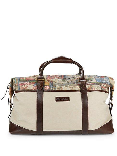 bea59ce3db ROBERT GRAHAM BADILON WEEKENDER BAG. #robertgraham #bags #leather #travel  bags #weekend