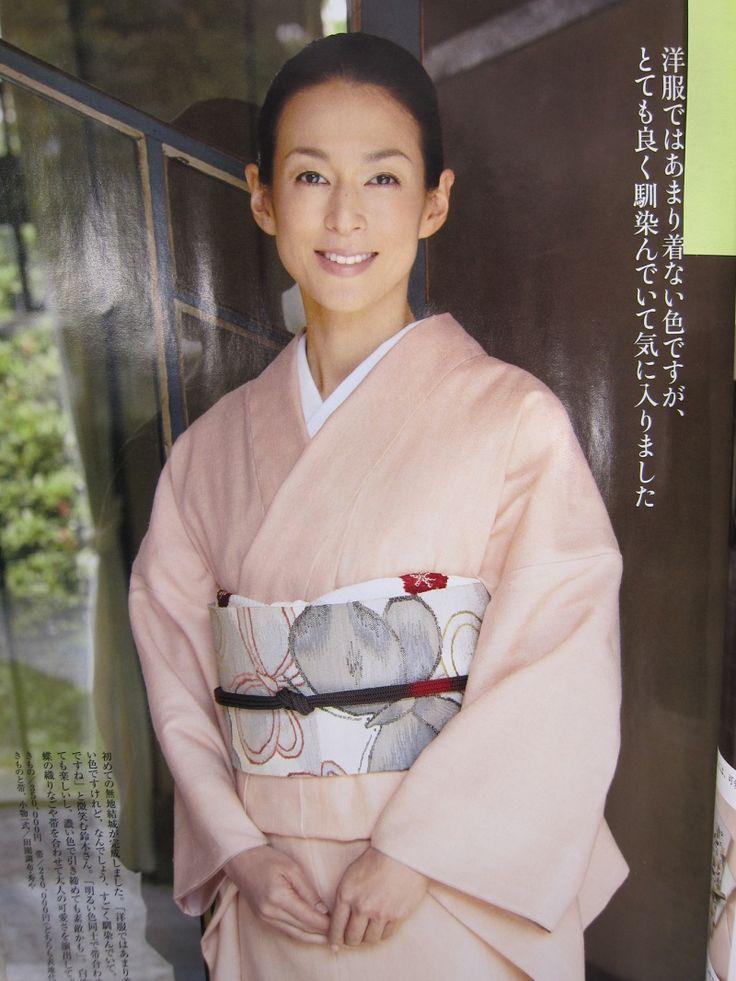 重要無形文化財の結城紬 の画像 『田園調布 秀や』 女将のうふふブログ