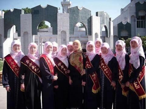 IN CHINA The graduation of Qur-an memorizers despite the difficulty of learning Arabic language ....  May Allah bless them all