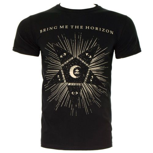 Get your hands on this Bring Me The Horizon Star T Shirt for less online  today. Shop our full official range of band t shirts now.