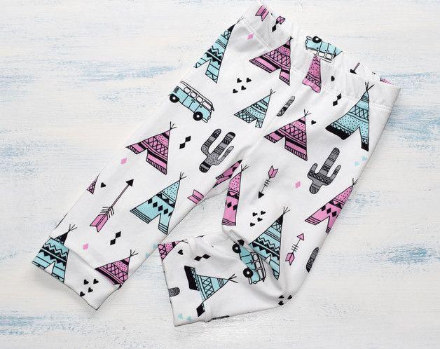 Pantalones - Leggins para Bebés, Niñas y Niños, Mallas - hecho a mano en DaWanda.es