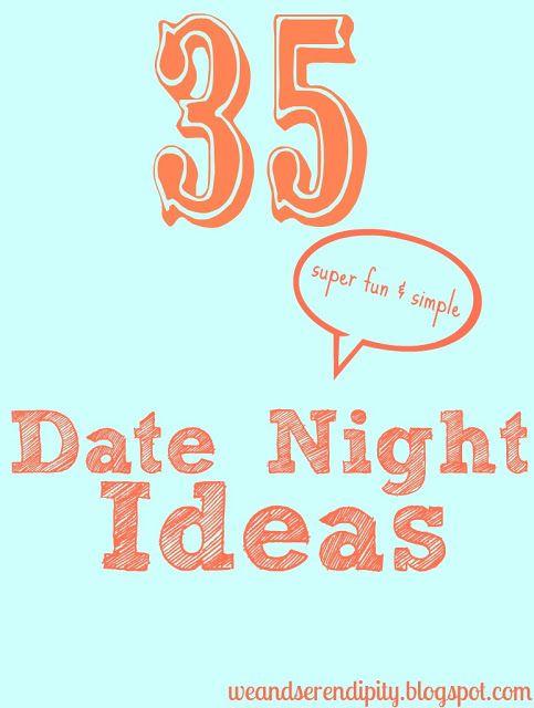 fun simple date ideas