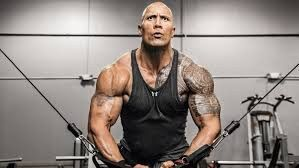 "Dwayne Johnson ""THE ROCK"" Shares His Current Jumanji Workout Routine www.BodyBuildingTanks.com"