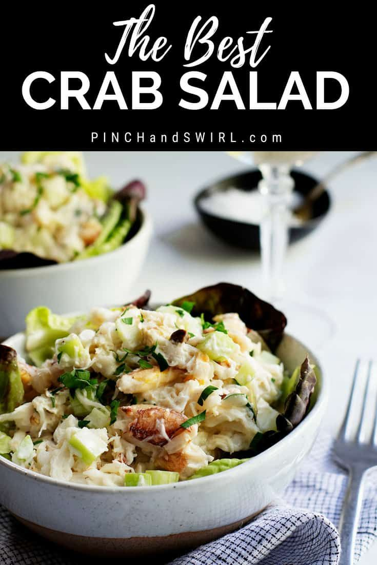 An Easy And Healthy Recipe For Crab Salad Using Real Lump