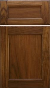 Natural Walnut Door [Inside: Bead / Outside : Bead Profiles]   M and J Woodcrafts - Your Wholesale Cabinet Door Manufacturers