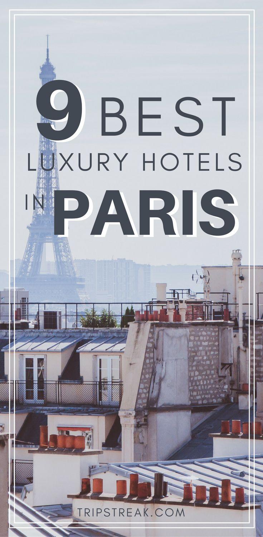 The best hotels in Paris? We've got a list of 9 luxury boutique hotels for your trip to Paris! Paris France Travel Tips