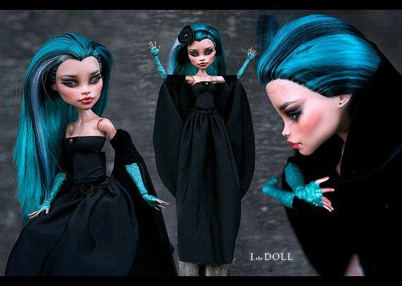 Monster High Repaint Art Doll OOAK – Nefera de Nile | Veronella