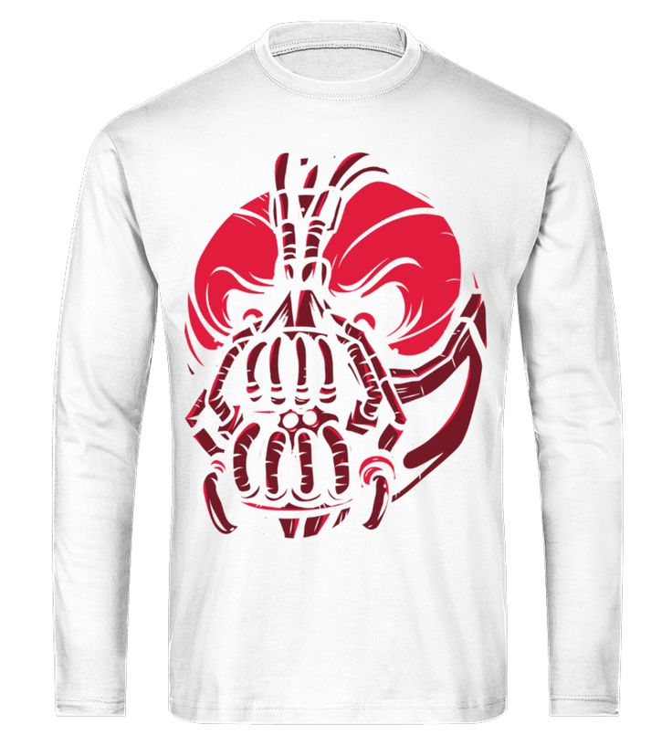 Evil Bane Mask   Illustration   Long Sleeve Tees  #gift #idea #shirt #image #funny #thankinggiving #heart  #art  #bestfriend #mother #father #new #birthday #christmas