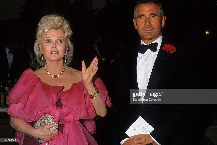 Zsa Zsa Gabor and Frederic Prinz Von Anhalt at Bel Age Hotel Event in February 1988 in Los Angeles, California. Description from gettyimages.com. I searched for this on bing.com/images