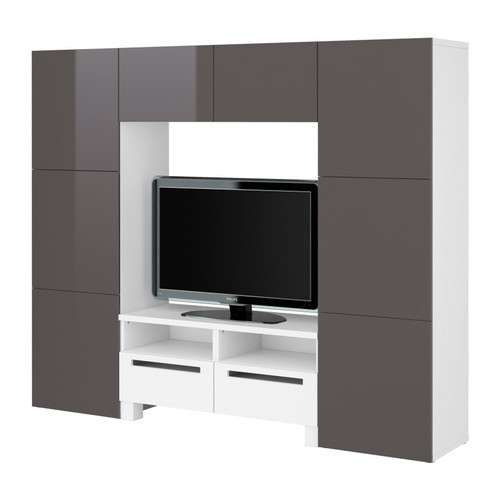 besta ikea than 37 besta framsta inreda system besta tv storage combination stuff to buy. Black Bedroom Furniture Sets. Home Design Ideas