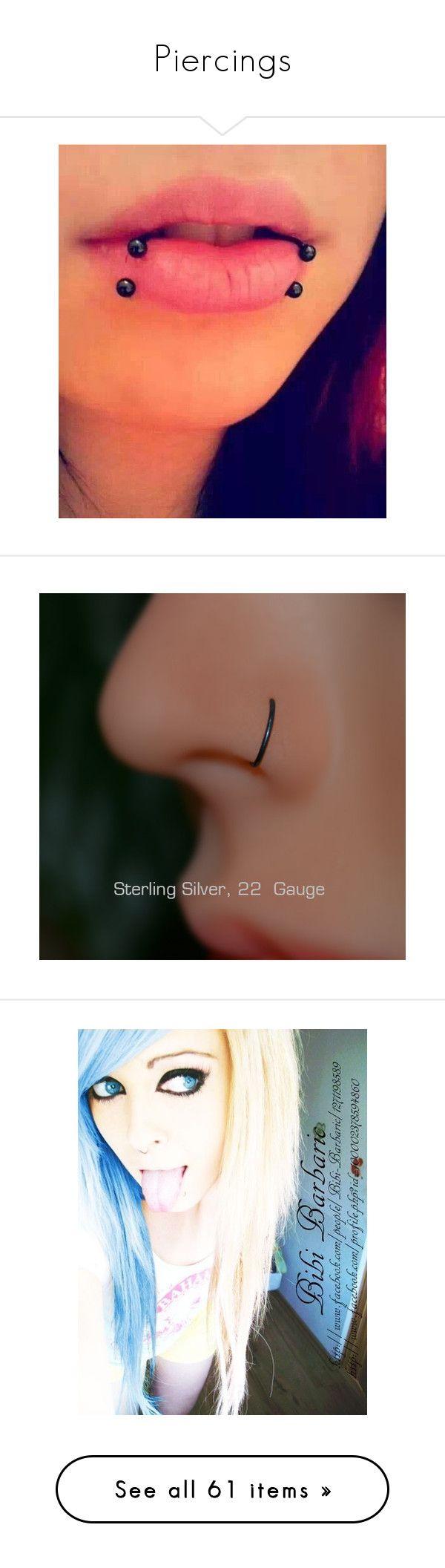 Piercing nose at home   melhores imagens sobre piercings no Pinterest  Brincos para