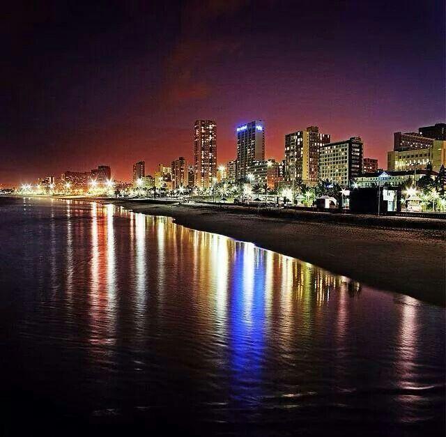 Nighttime Durban SA