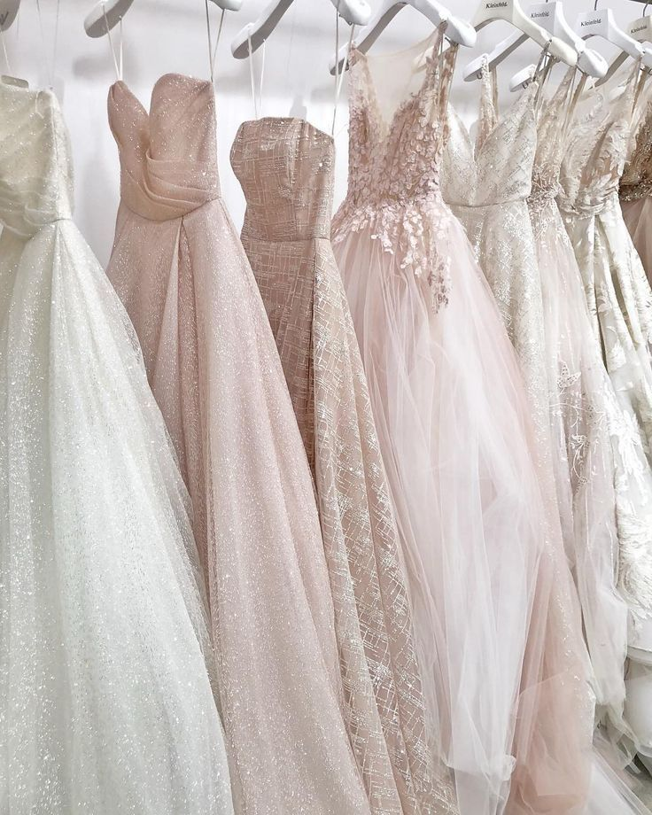 3234a6aa683b How gorgeous are these wedding gown colors - Pale hues of beauty ...
