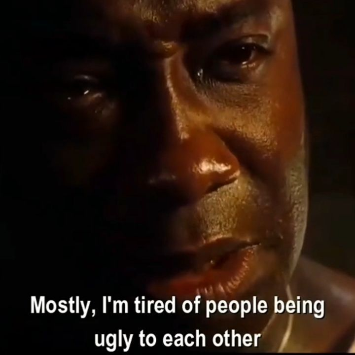 Good Films Make Life Better On Instagram The Green Mile 1999 In 2020 Movie Quotes Tired Of People Life