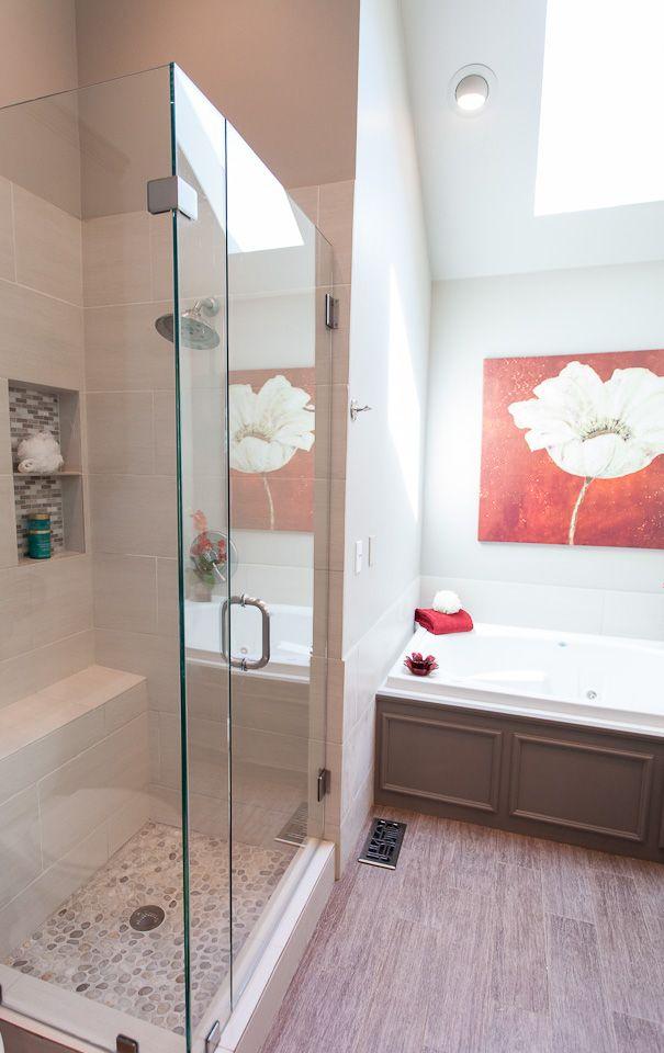 oklahoma city edmond showers and backsplash this master bath