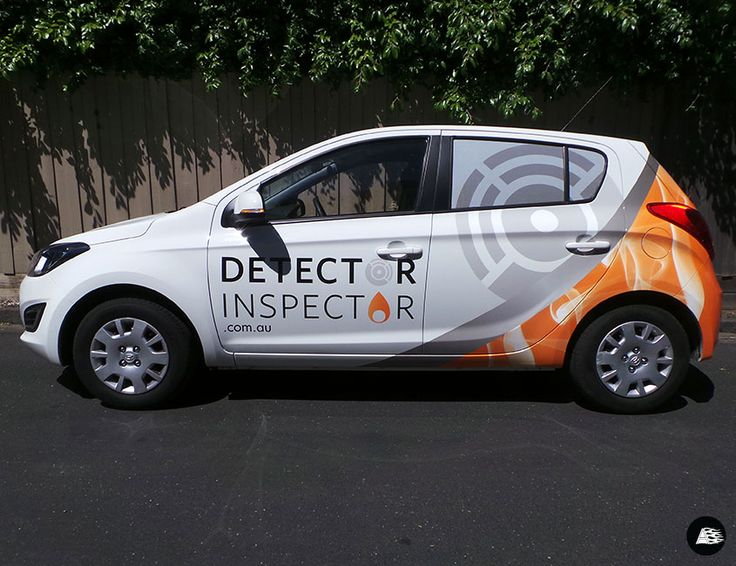 Hyundai i20, Vehicle Wrap, Detector Inspector, Fleet Graphics