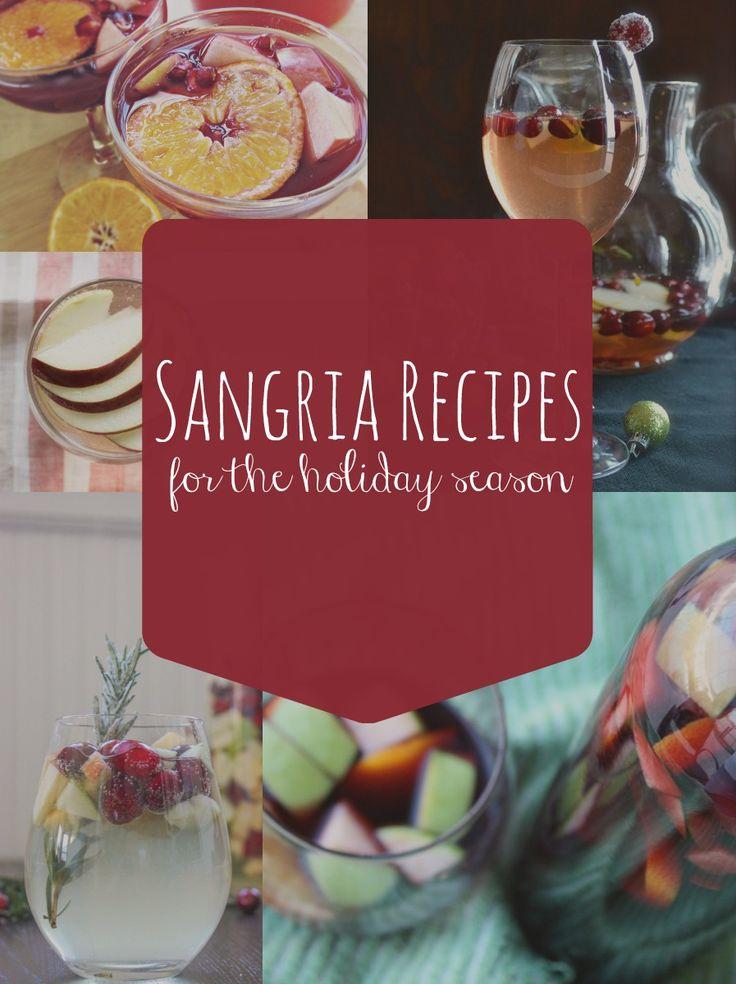 5 Sangria Recipes For The Holiday Season