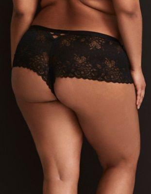 Black Lace Cheeky Panty