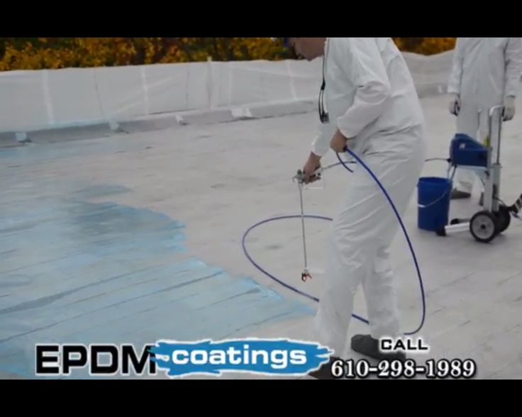 EPDM Coating Is The Way To Save The Situation. #Roofing #Coatings Http:
