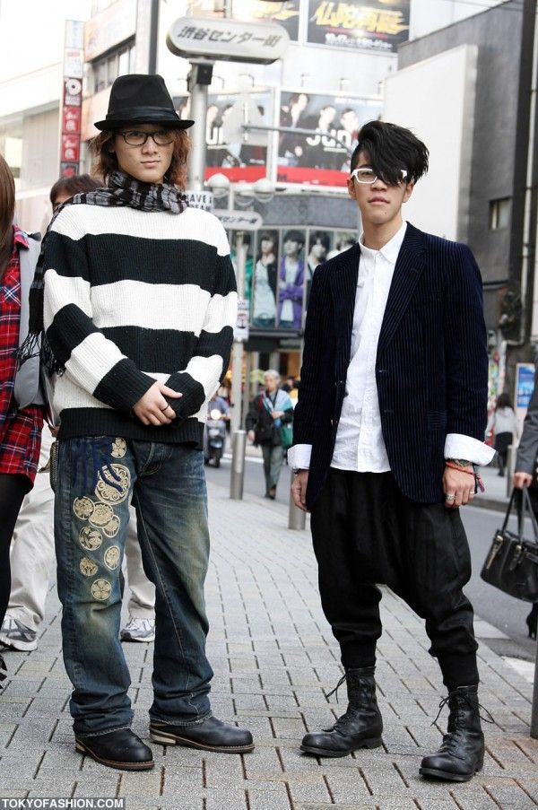 Japanese Mens Fashion Shibuya | Street Style | Fashion ...