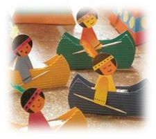 Native american canoes