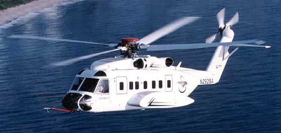 Sikorsky Helicopter. This made me like white too!