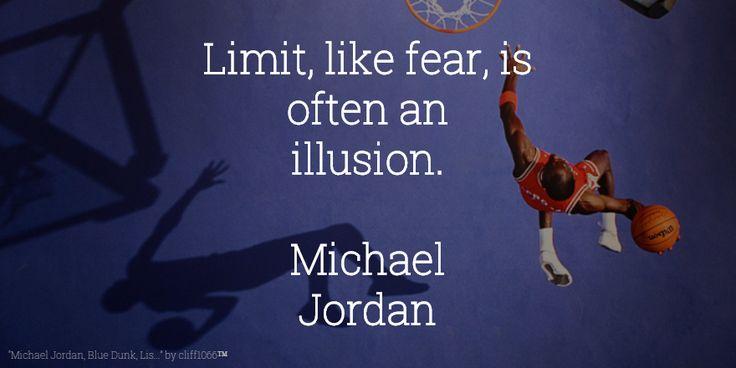 #VitaminOfTheDay #Limit #fear #Illusion #MichaelJordan