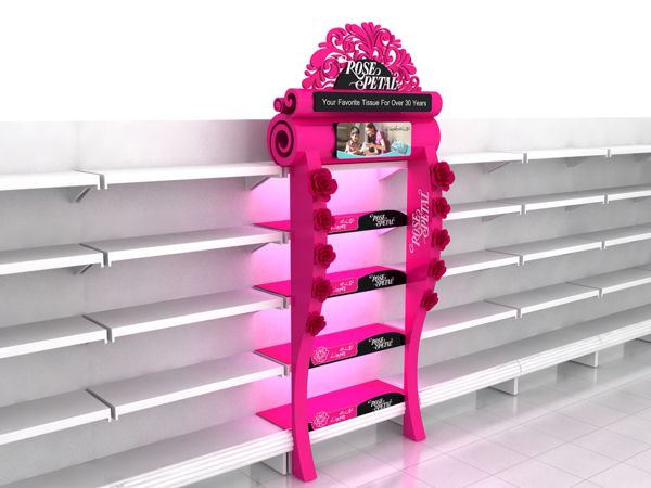 Rose petal shelf dressup on Behance