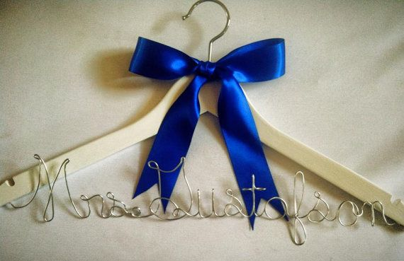 Custom bridal hangers that really make the bride happy. This one is without the pearls. by Southernfreyed, $24.00