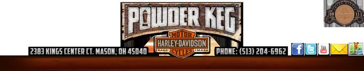 Cincinnati & Mason, OH Harley-Davidson Motorcycles | New & Used Motorcycles for Sale, Parts, Service & Events | Powder Keg Harley-Davidson |