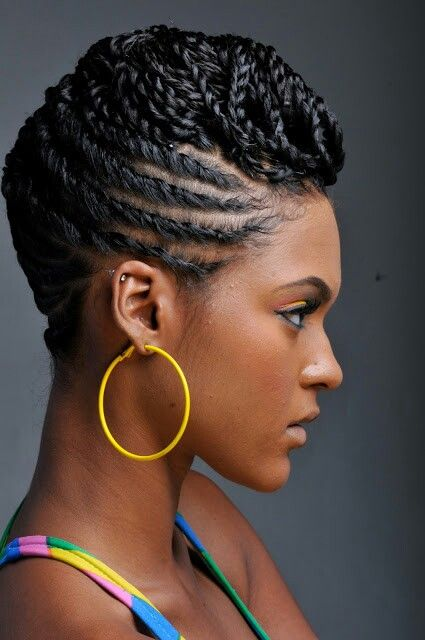 121 best Hair images on Pinterest | Natural hair, African hairstyles ...