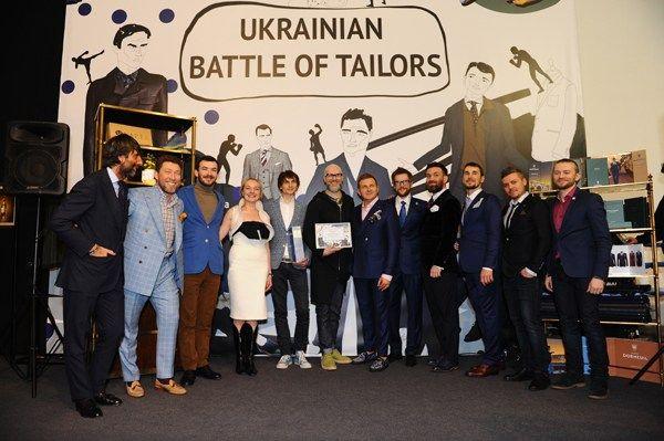 Ukrainian Battle of Tailors на Ukrainian Fashion Week