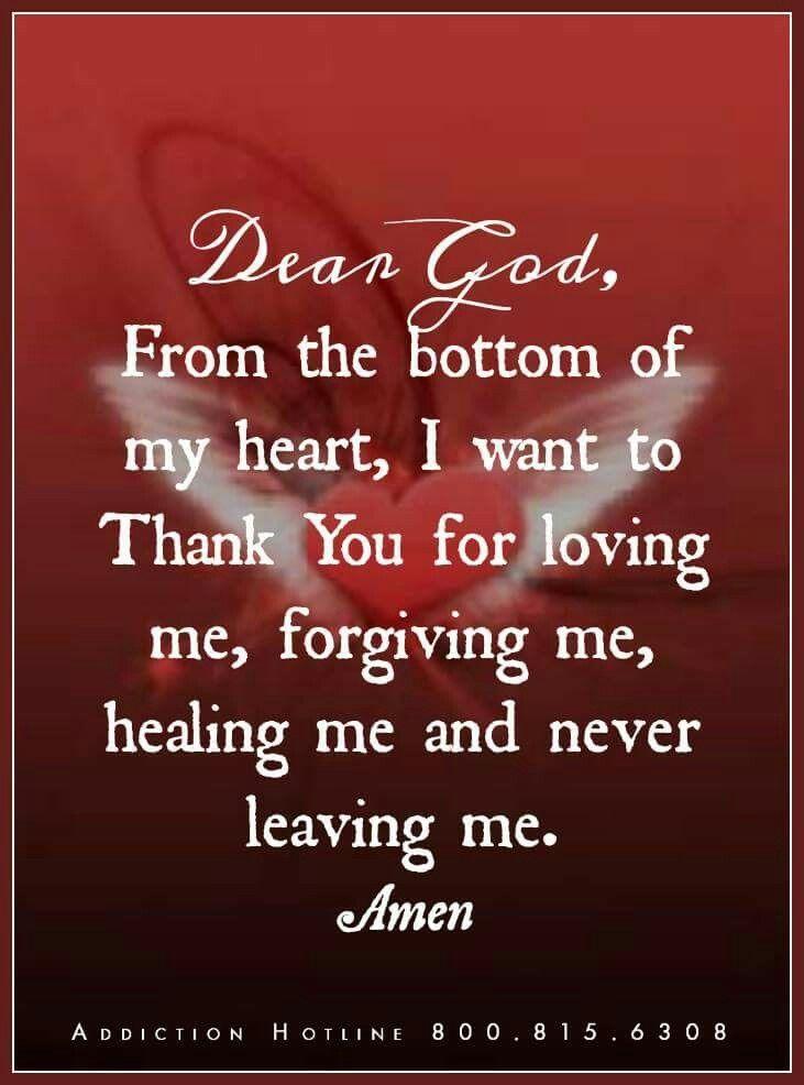 Heartfelt prayer