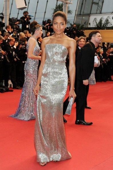 Naomie Harris in Calvin Klein | 2013 Cannes