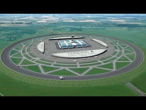 Nederlander bedenkt eindeloze ronde start- en landingsbaan   Blik op nieuws