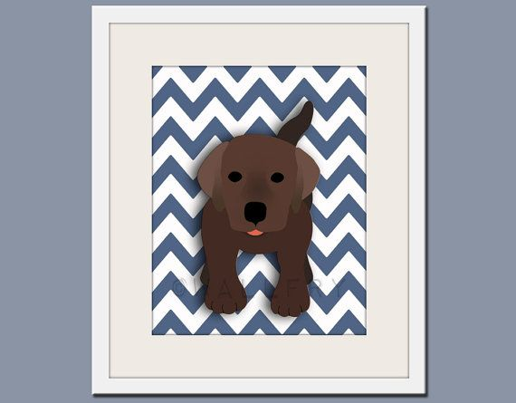 The cutest prints!  I wish these had been around for Jack's dog room.