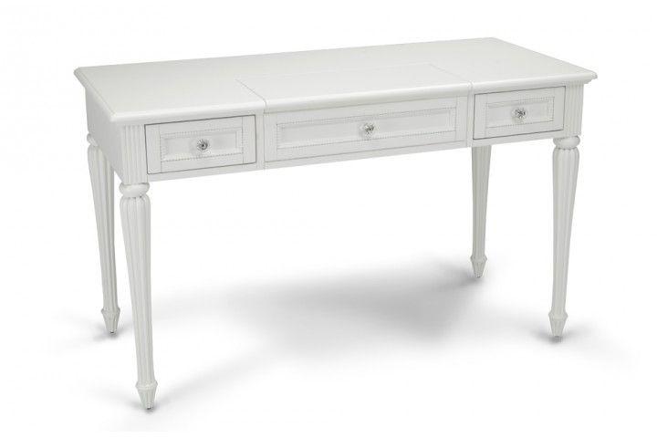 Madelyn White Vanity Desk. $299