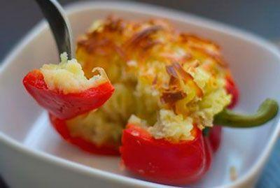 Перец фаршированный картошкой | Классные вегетарианские рецепты