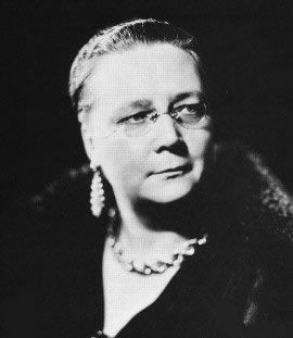 Dorothy L Sayers. Writer of detective stories, many featuring Lord Peter Whimsey.  Born Oxford.  Died Witham, Essex.