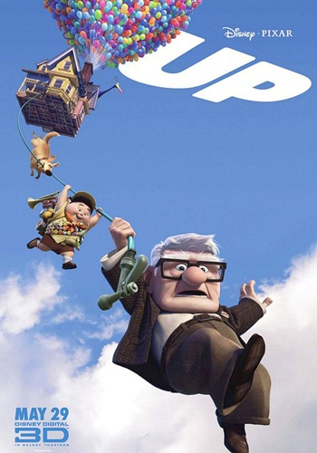 UP.....SUCH A WONDERFUL MOVIE....ANIMATED....FUNNY...BUT ALSO VERY TOUCHING!!! LOVED IT!!!