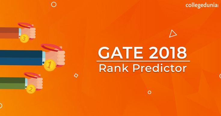 Gate 2018 rank predictor