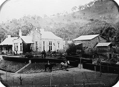 'Ercildourne' homestead, Ballarat District, Victoria  pre1875