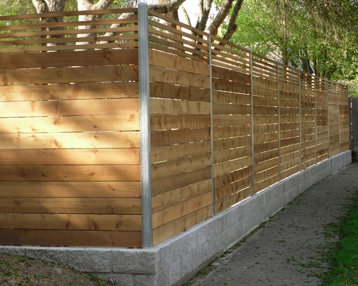 Residential Wood Fences - Austin