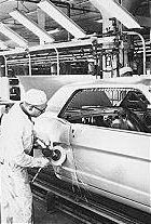 Mustang Assembly Line